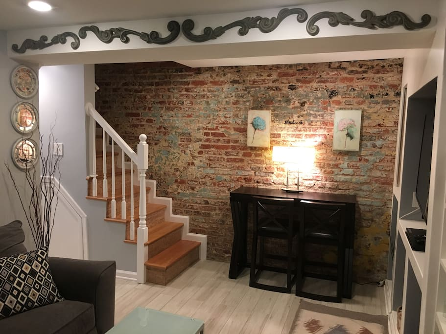 Exposed brick and vintage details give you the beautiful environment you deserve!