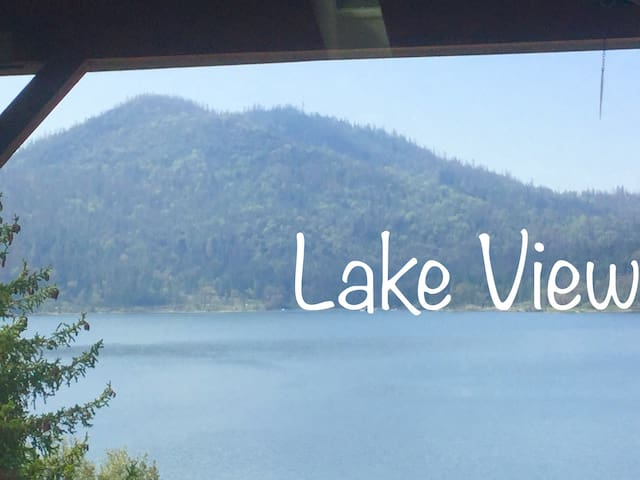 Little Bear Lodge Lake View.