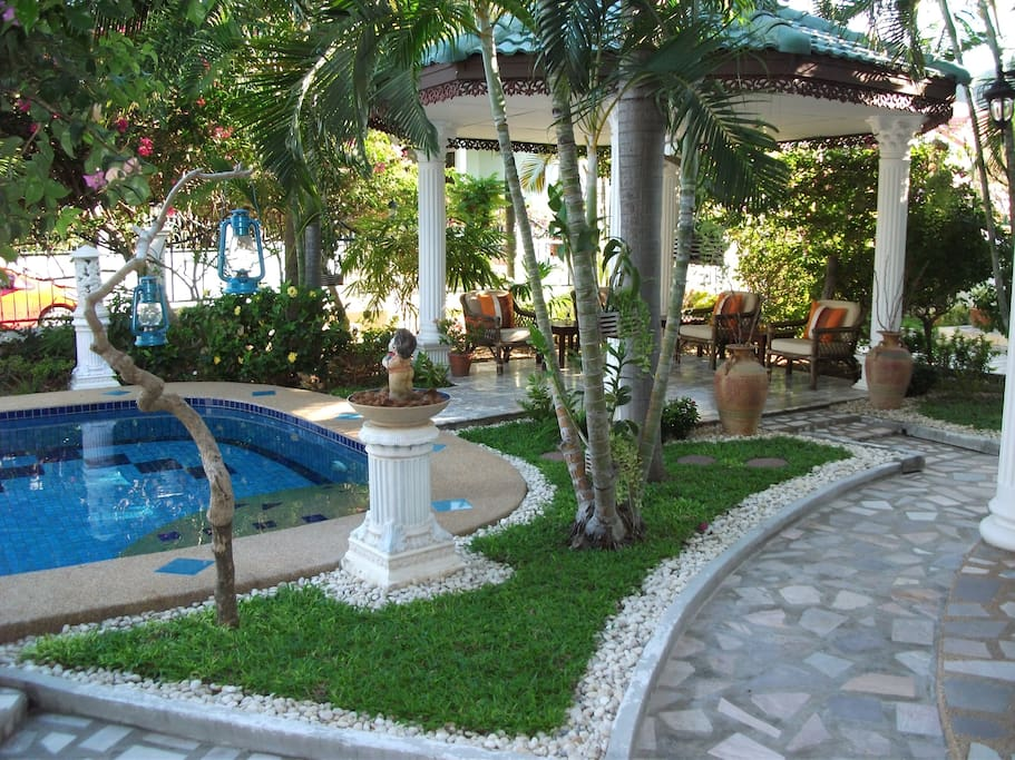 Swimming pool with sala