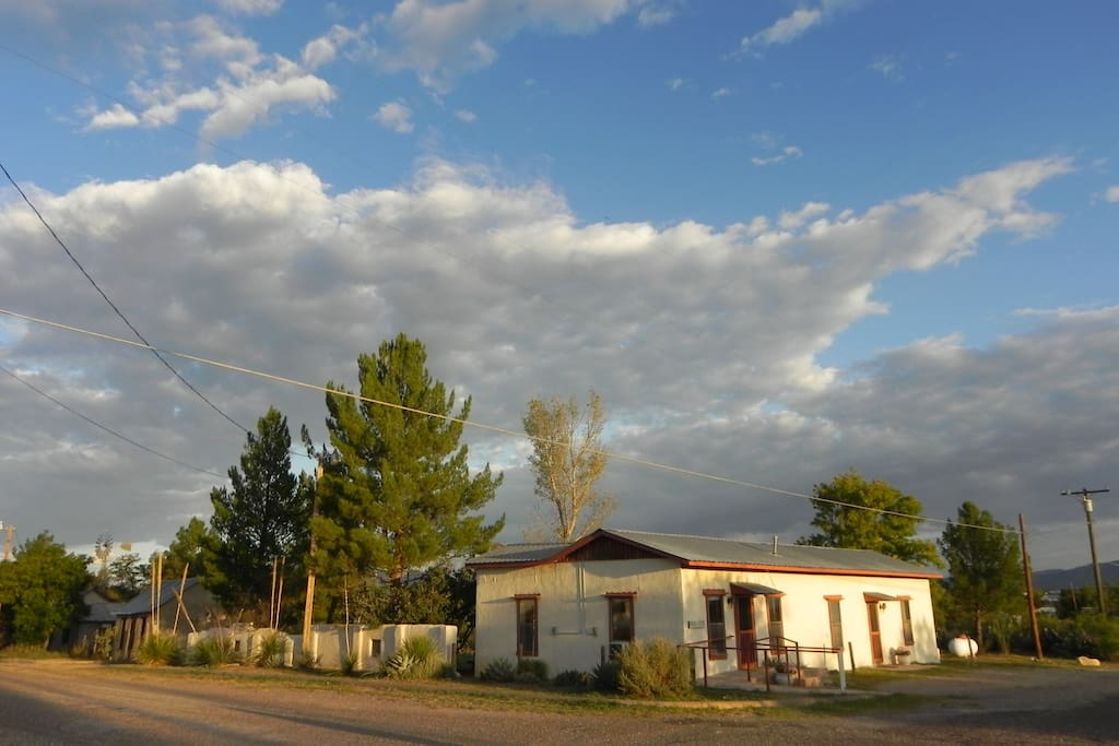 Welcome to my Adobe Haciendas. This listing is for Unit A at the Monroe Payne House.