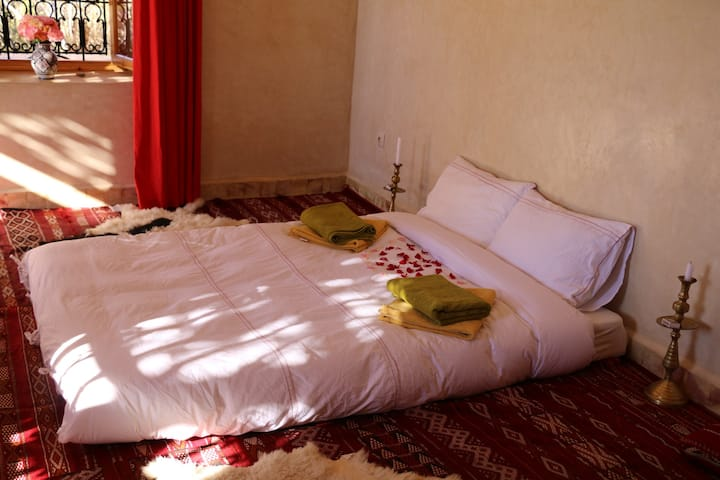 Bungalow in the Ourika valley (Atlas mountains)