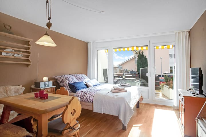 """Holiday Apartment """"Alpenglück"""" with Balcony, Wellness Specials & Wi-Fi; Parking Available"""