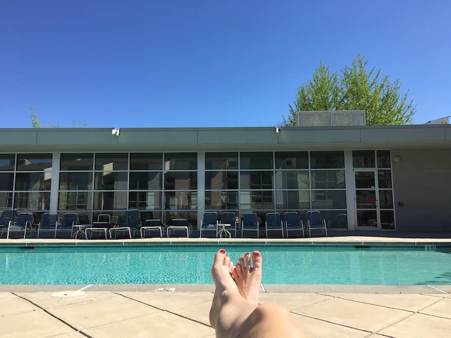 Take a dip in the pool!