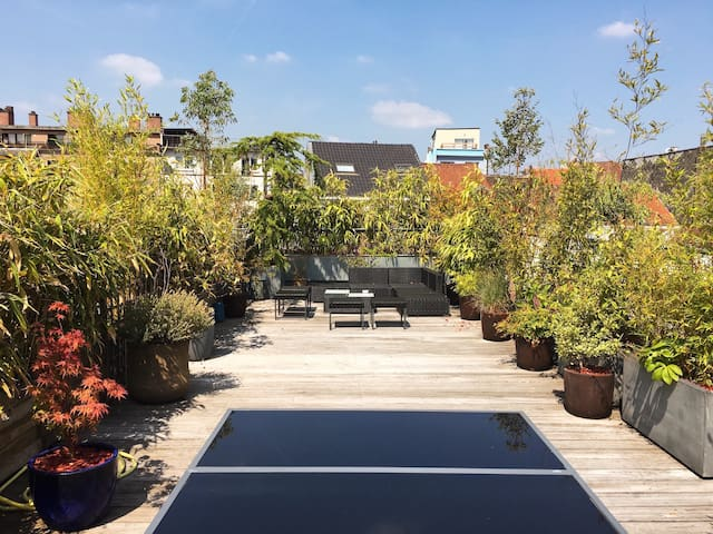 Rooftop Duplex Residence - Brussels
