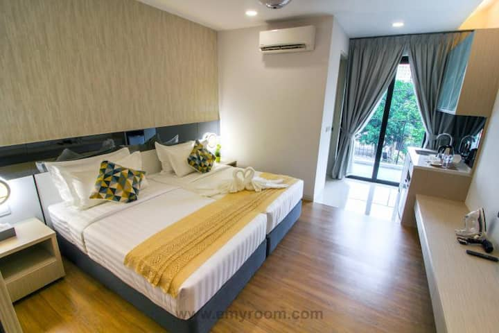 Tropical Villa Luxury Studio Room With Free Wifi
