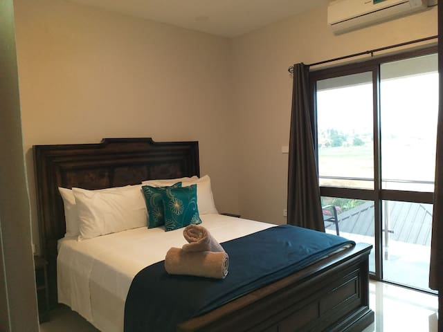Queen Bedroom with Aircon