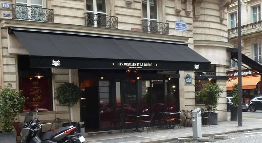Cosy appartement, 5min walk by Champs-Élysées.
