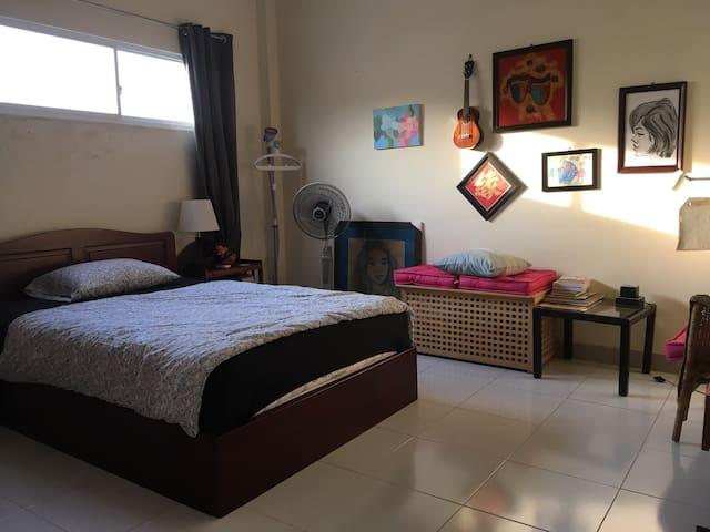 Rooftop double room near center - Ho Chi Minh - House