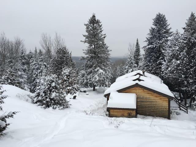 Rustic Wood Cabin near Tremblant - Boileau