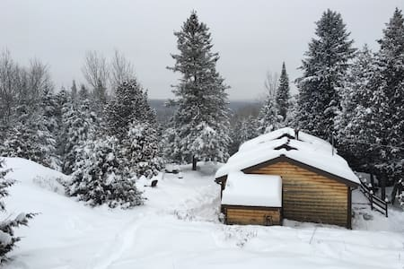 Rustic Wood Cabin near Tremblant - Boileau - Cottage
