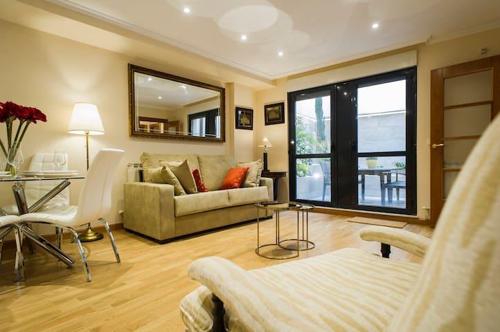 Apartamento en el Centro Monumental con terraza - Salamanca - Daire