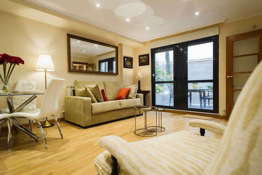 Apartamento en el centro monumental con terraza apartments for rent in salamanca castilla y - Apartamentos en salamanca ...