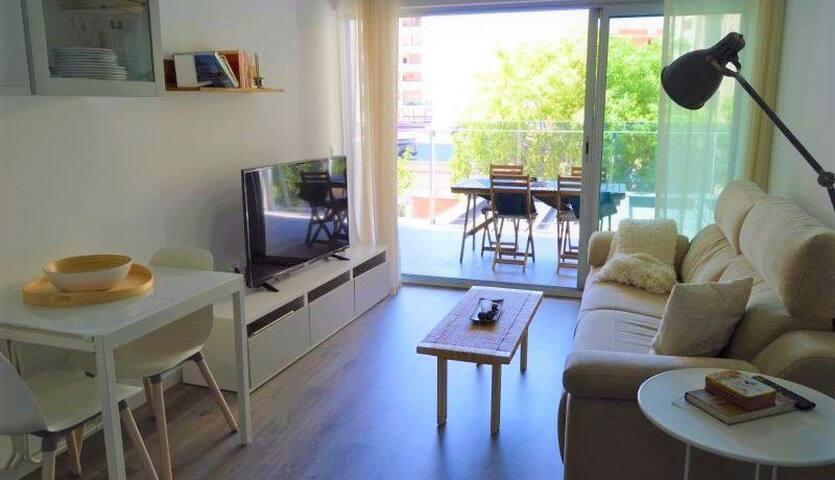 Calpe / Moderno apartamento totalmente equipado