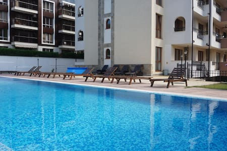 1Bed to the beach and Marina Port - luxury complex - Sveti Vlas - 公寓