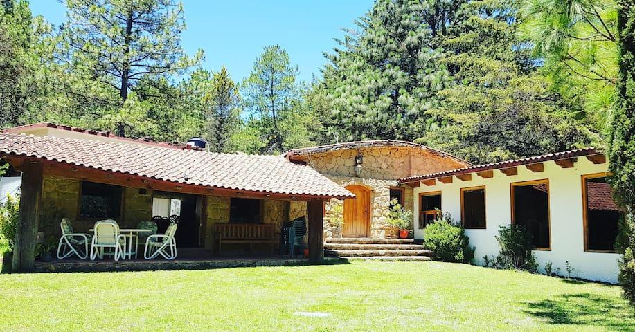 Cabaña en Huasca