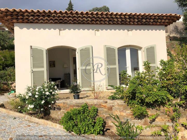 Petite maison vue mer - Aiguebelle - Le Lavandou