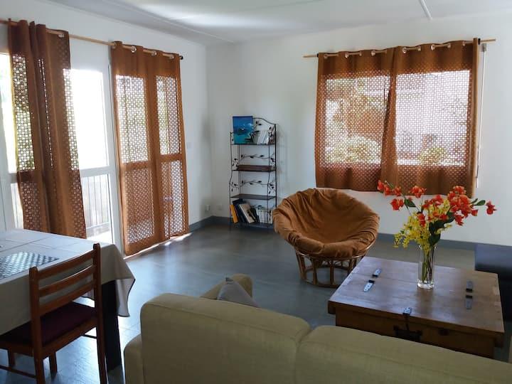 Koné : appartement F4 équipé dans quartier calme