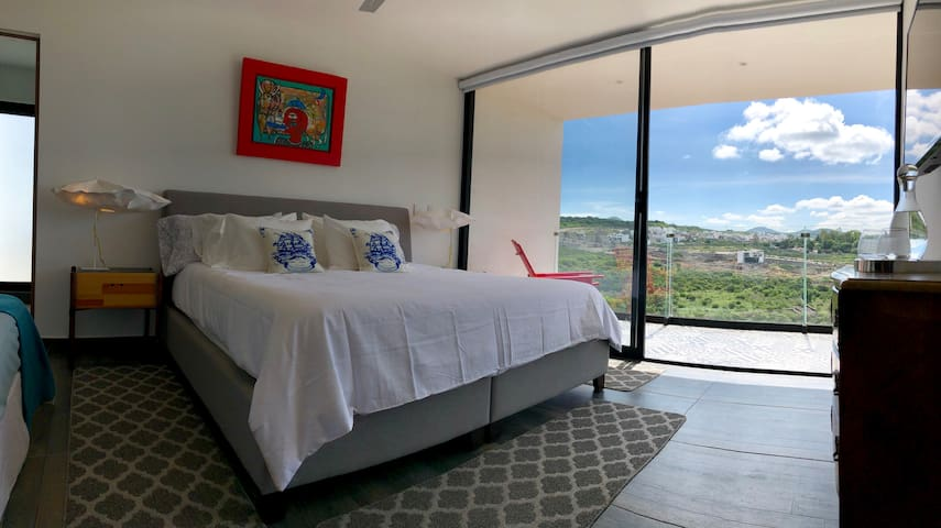 Amazing view from master bedroom