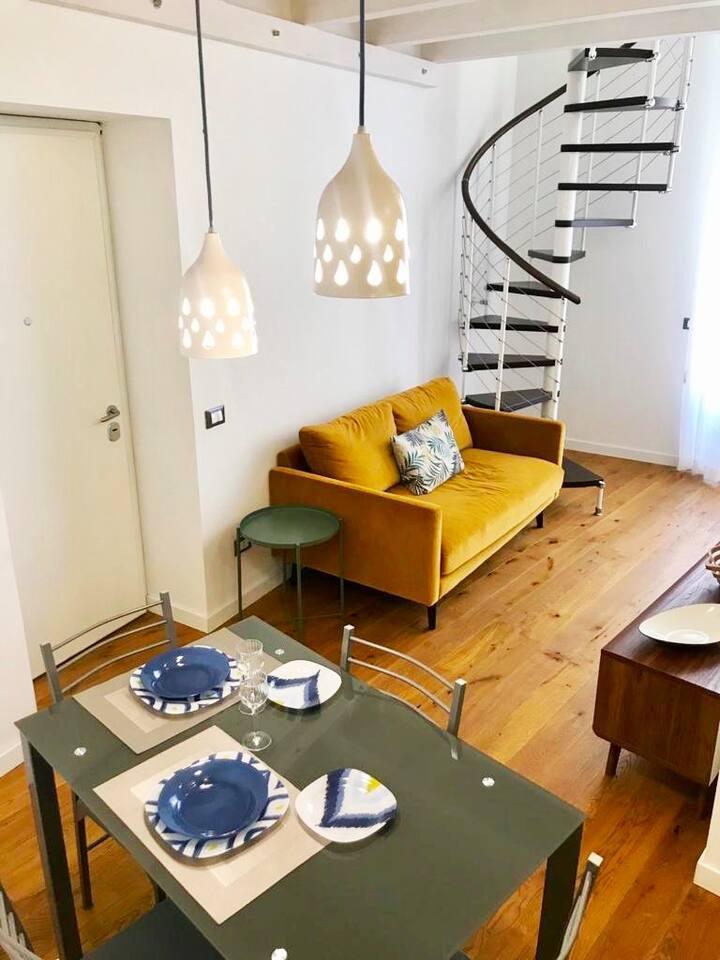 Palazzo Gualtieri Avarna - Studio flat with view