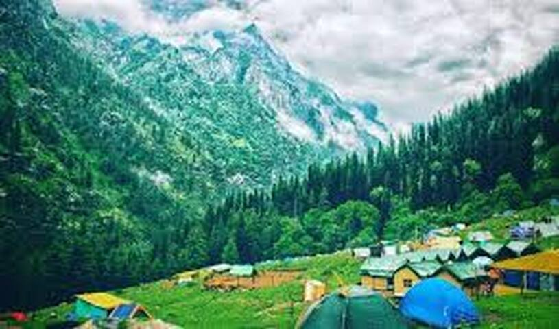 Mesmerizing View Comfortable Room in Quaint Kasol