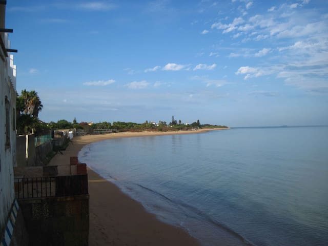 Apartamento Coral, Chipiona direkt am Meer