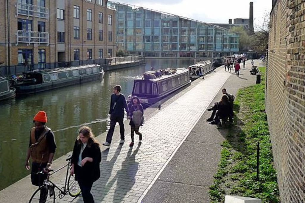 Just near the Regent's Canal