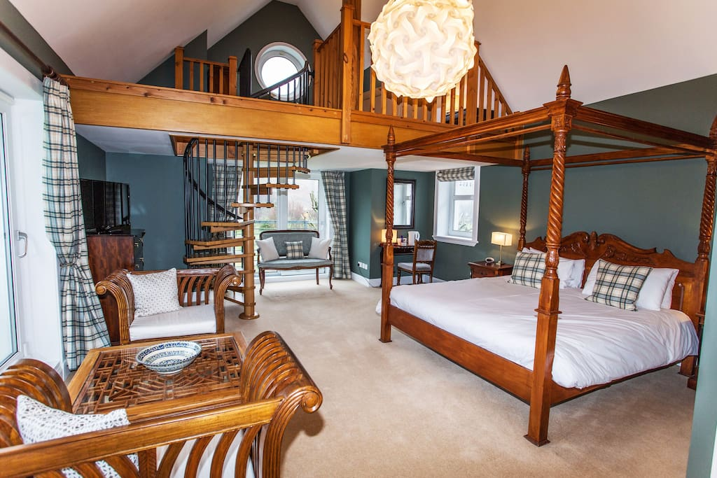 The Castle Suite offers spacious luxury