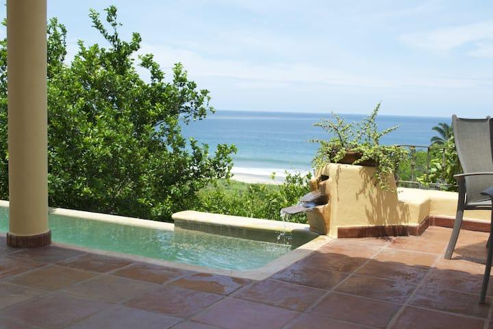 Great Villa steps away from beach
