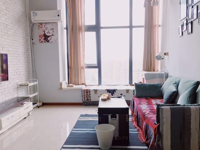 Lemon Tea House/Loft整套公寓、孙武纪念园站靠近观前街和苏州火车站、拙政园、平江路