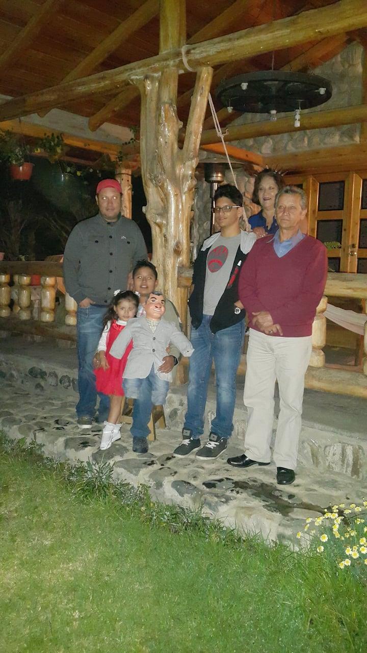 Acogedora habitación en Casa De Campo En Quito
