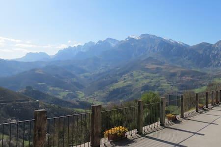 El Mirador de Cobeña. Casa en los Picos de Europa.