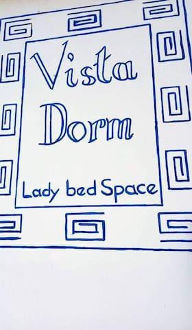 VistaDorm bedspacer and transient House
