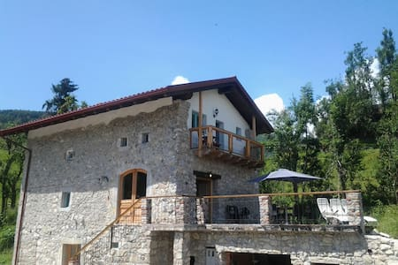 Farmhouse with views of Soca Valley - Livek