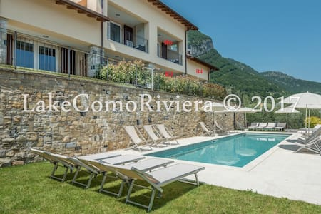 BELVEDERE B4 LAKE COMO VIEW & POOL APT WITH GARDEN