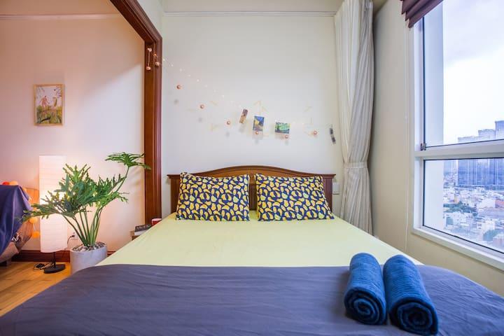 ♡An Oasis in Saigon♡FREE Pool @5min to Landmark 81