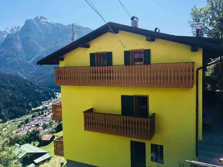Vacanze sulle Dolomiti.