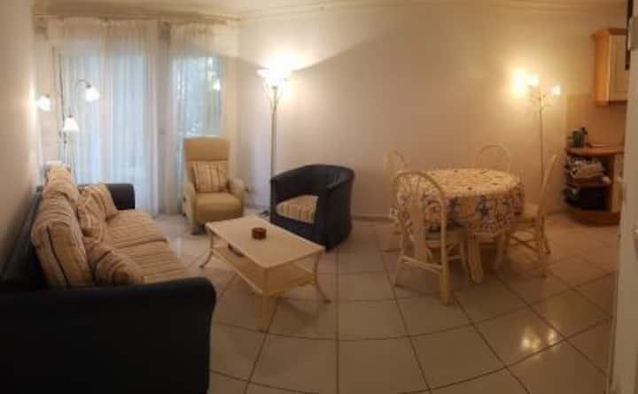 Juan les Pins entire home,aircon
