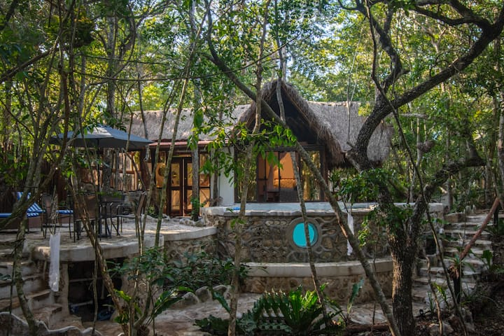Eco Cabin Nah- ha with Private Pool at the Jungle