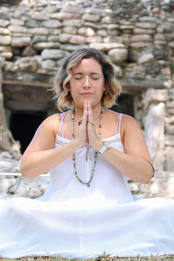 Meditate at ruins