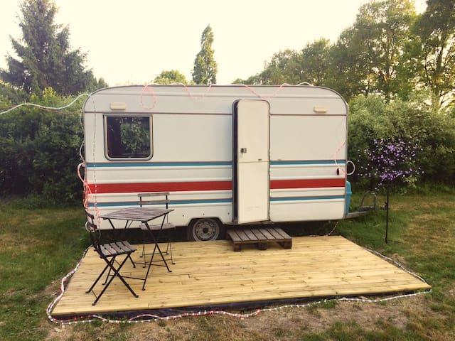 Caravane cosy pour les amoureux de la nature !