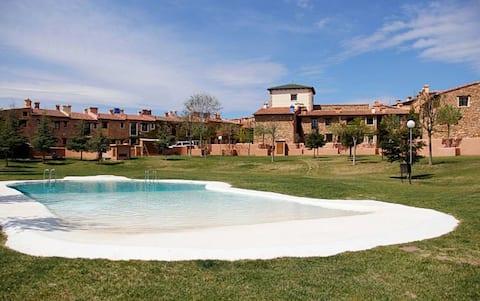 Дом Боракай с бассейном в Мас-де-лос-Пасторес