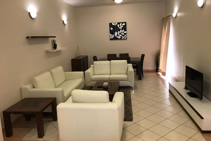 Furnished 3 Bedroom Apartment in a Greenery Area