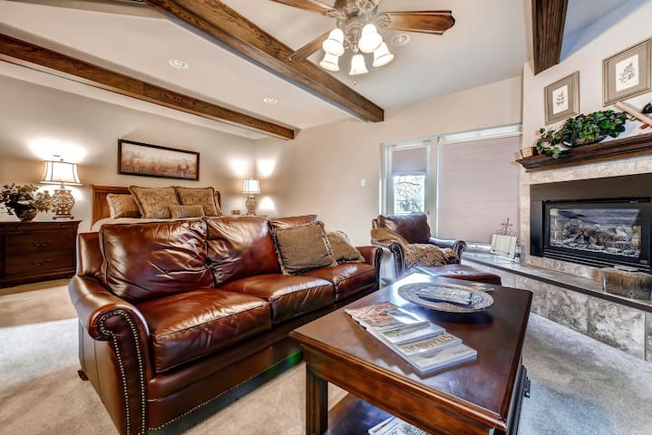 Remodeled Luxury Ski In/Out Studio w/ King, HT & Shuttle - Disc Lift Tix Avail