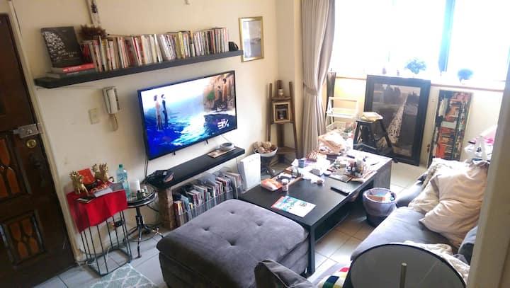 適合渡假發懶的空間 我家沙發給您住 電視電腦廚房冰箱衛浴都具備