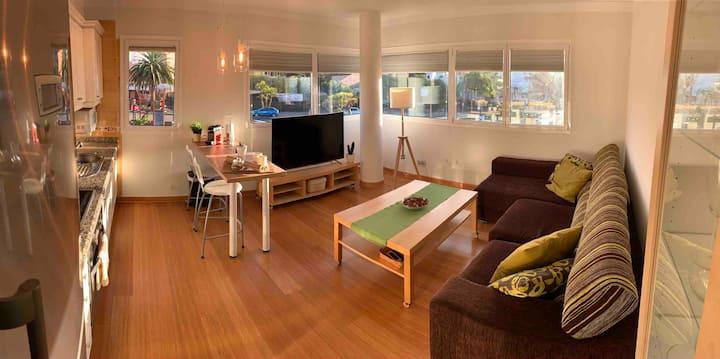 Una vivienda coqueta y luminosa con vistas