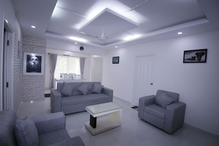 New Beautiful Apartment for daily Rent in Kottayam