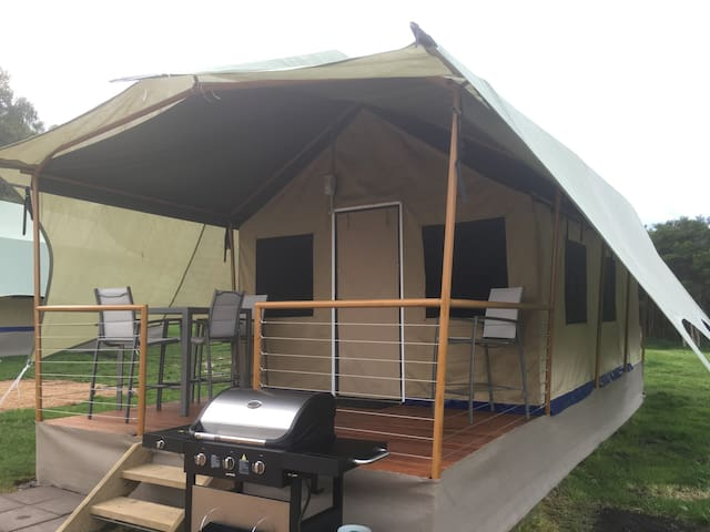 Eco Tent -Promhills Cabins, Wilsons Promontory - Yanakie
