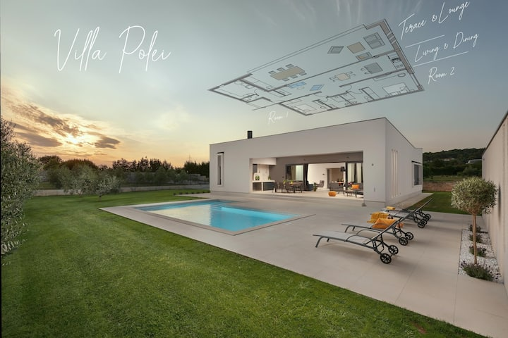 Villa Polei, opened 2020, for really relax in Pula