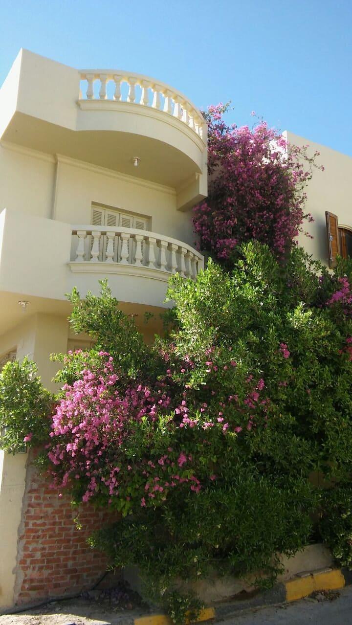 Sea view double room in a Luxury villa