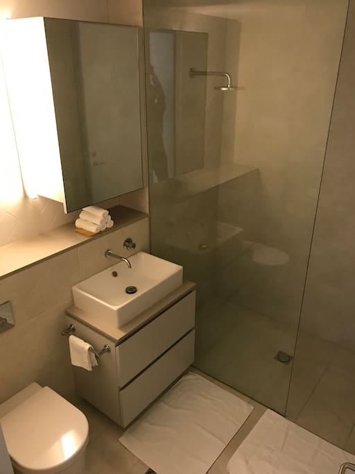 Private bathroom next you your bedroom